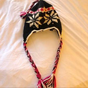 Free people Gorgeous fair isle hat! NWOT
